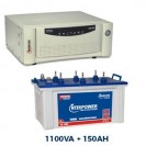 Microtek 1200VA Sinewave Home UPS + 150AH Tall Tubular Battery Combo