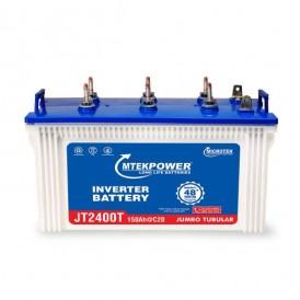 Microtek JT 2400T 150AH Mtek power Short Tubular Battery